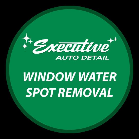 Window Water Spot Removal